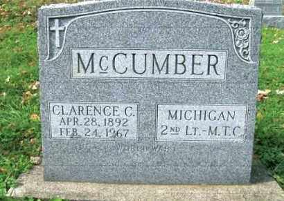 MCCUMBER, CLARENCE C. - Vinton County, Ohio | CLARENCE C. MCCUMBER - Ohio Gravestone Photos