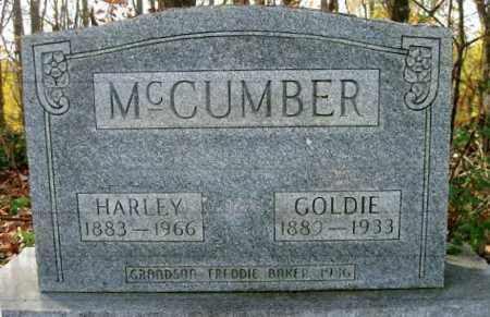 MCCUMBER, GOLDIE - Vinton County, Ohio | GOLDIE MCCUMBER - Ohio Gravestone Photos