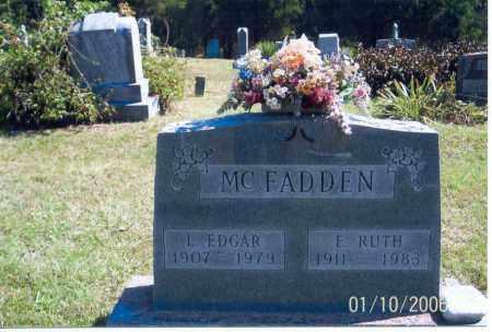 MCFADDEN, L. EDGAR - Vinton County, Ohio | L. EDGAR MCFADDEN - Ohio Gravestone Photos