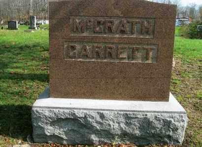 MCGRATH-GARRETT, MONUMENT - Vinton County, Ohio | MONUMENT MCGRATH-GARRETT - Ohio Gravestone Photos