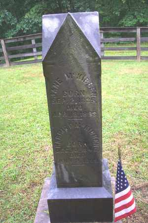 MCKIBBEN, HARRIET - Vinton County, Ohio | HARRIET MCKIBBEN - Ohio Gravestone Photos