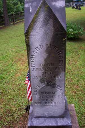 MCKIBBEN, RICHARD - Vinton County, Ohio   RICHARD MCKIBBEN - Ohio Gravestone Photos