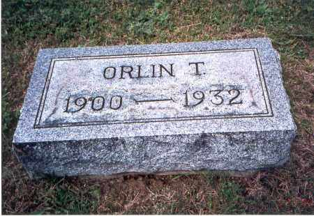 MCLAUGHLIN, ORLIN THOMAS - Vinton County, Ohio | ORLIN THOMAS MCLAUGHLIN - Ohio Gravestone Photos
