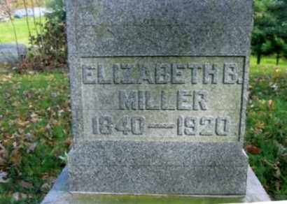 BOOTH MILLER, ELIZABETH B. - Vinton County, Ohio | ELIZABETH B. BOOTH MILLER - Ohio Gravestone Photos