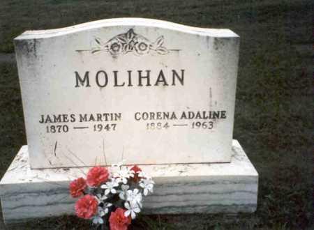 MOLIHAN, CORENA ADALINE - Vinton County, Ohio | CORENA ADALINE MOLIHAN - Ohio Gravestone Photos