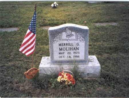 MOLIHAN, MERRILL G. - Vinton County, Ohio | MERRILL G. MOLIHAN - Ohio Gravestone Photos