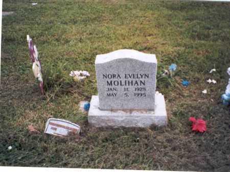 PERRY MOLIHAN, NORA EVELYN - Vinton County, Ohio | NORA EVELYN PERRY MOLIHAN - Ohio Gravestone Photos