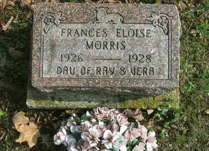 MORRIS, FRANCES ELOISE - Vinton County, Ohio   FRANCES ELOISE MORRIS - Ohio Gravestone Photos