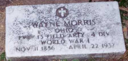 MORRIS, WAYNE - Vinton County, Ohio   WAYNE MORRIS - Ohio Gravestone Photos
