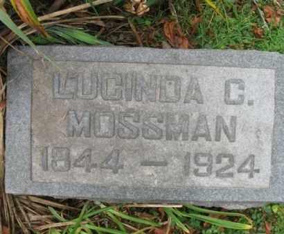 ERWIN MOSSMAN, LUCINDA C. - Vinton County, Ohio | LUCINDA C. ERWIN MOSSMAN - Ohio Gravestone Photos