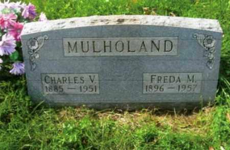 MULHOLAND, FREDA M. - Vinton County, Ohio | FREDA M. MULHOLAND - Ohio Gravestone Photos