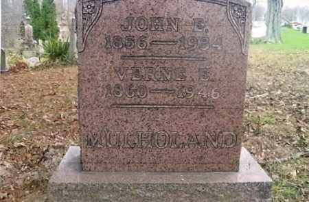 GRAPES MULHOLAND, VERNE E. - Vinton County, Ohio   VERNE E. GRAPES MULHOLAND - Ohio Gravestone Photos