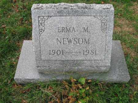 NEWSOM, ERMA M. - Vinton County, Ohio | ERMA M. NEWSOM - Ohio Gravestone Photos