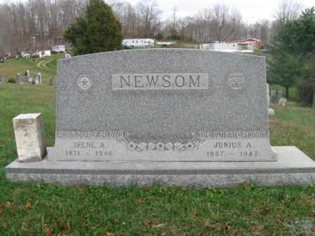 NEWSOM, IRENE A. - Vinton County, Ohio | IRENE A. NEWSOM - Ohio Gravestone Photos