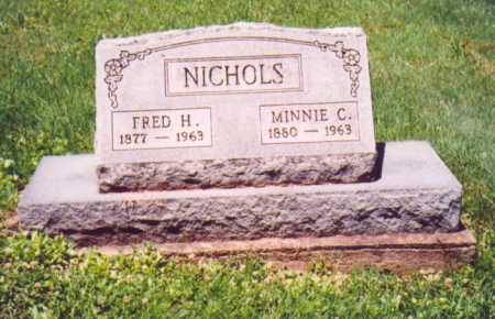 NICHOLS, MINNIE C. - Vinton County, Ohio   MINNIE C. NICHOLS - Ohio Gravestone Photos