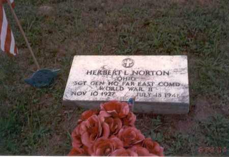 NORTON, HERBERT L. - Vinton County, Ohio   HERBERT L. NORTON - Ohio Gravestone Photos