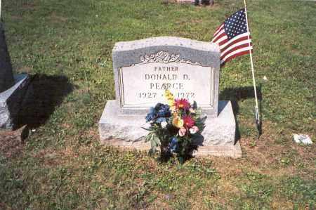 PEARCE, DONALD  D. - Vinton County, Ohio | DONALD  D. PEARCE - Ohio Gravestone Photos