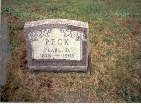 PECK, PEARL D. - Vinton County, Ohio | PEARL D. PECK - Ohio Gravestone Photos