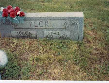PECK, STACE G. - Vinton County, Ohio | STACE G. PECK - Ohio Gravestone Photos