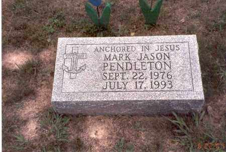 PENDLETON, MARK JASON - Vinton County, Ohio | MARK JASON PENDLETON - Ohio Gravestone Photos
