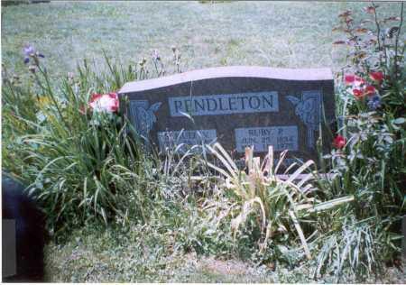 PENDLETON, RUBY - Vinton County, Ohio | RUBY PENDLETON - Ohio Gravestone Photos