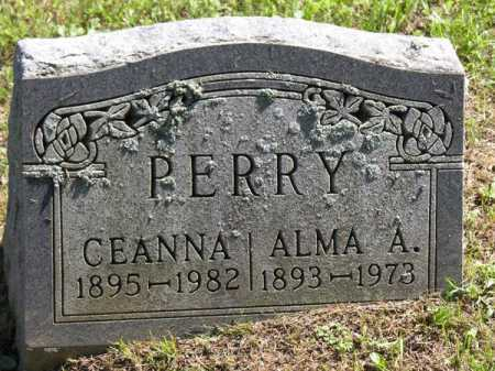 PERRY, ALMA ARLA - Vinton County, Ohio | ALMA ARLA PERRY - Ohio Gravestone Photos