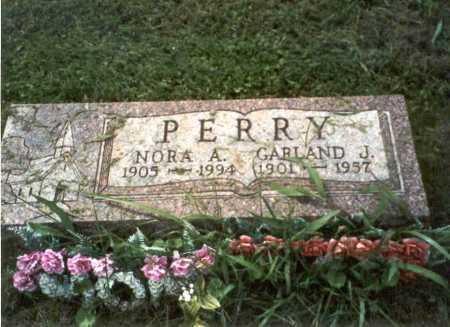 PERRY, NORA A. - Vinton County, Ohio | NORA A. PERRY - Ohio Gravestone Photos