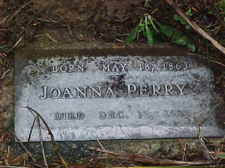 PERRY, JOANNA - Vinton County, Ohio | JOANNA PERRY - Ohio Gravestone Photos