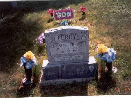 PERRY, JR., RONALD - Vinton County, Ohio | RONALD PERRY, JR. - Ohio Gravestone Photos