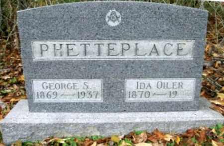 PHETTEPLACE, GEORGE S. - Vinton County, Ohio | GEORGE S. PHETTEPLACE - Ohio Gravestone Photos