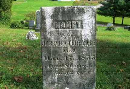 PHETTEPLACE, NANCY - Vinton County, Ohio | NANCY PHETTEPLACE - Ohio Gravestone Photos