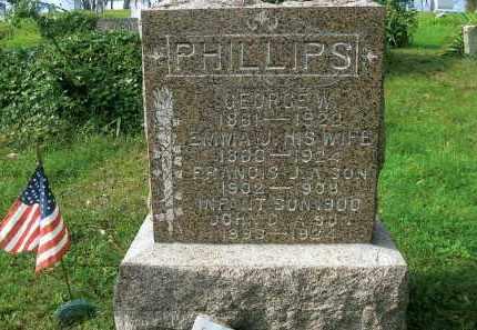 PHILLIPS, EMMA J. - Vinton County, Ohio | EMMA J. PHILLIPS - Ohio Gravestone Photos