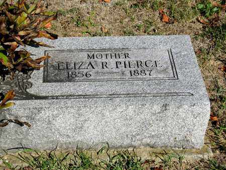 RADCLIFF PIERCE, ELIZA - Vinton County, Ohio | ELIZA RADCLIFF PIERCE - Ohio Gravestone Photos