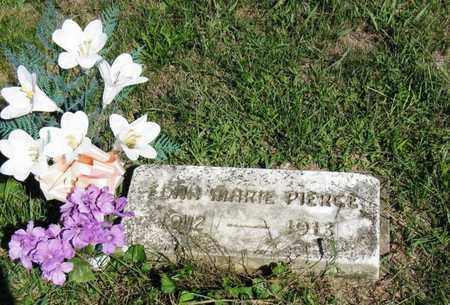PIERCE, EDNA MARIE - Vinton County, Ohio   EDNA MARIE PIERCE - Ohio Gravestone Photos