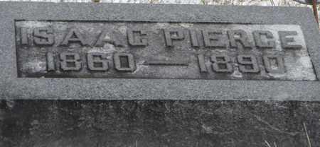 PIERCE, ISAAC - Vinton County, Ohio | ISAAC PIERCE - Ohio Gravestone Photos