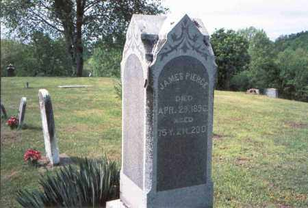 PIERCE, JAMES - Vinton County, Ohio | JAMES PIERCE - Ohio Gravestone Photos