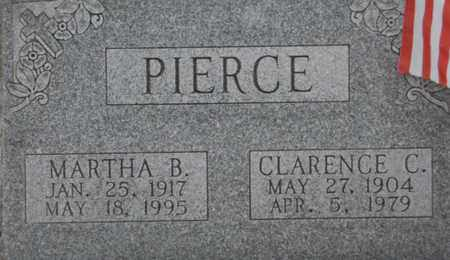 PIERCE, MARTHA B - Vinton County, Ohio | MARTHA B PIERCE - Ohio Gravestone Photos