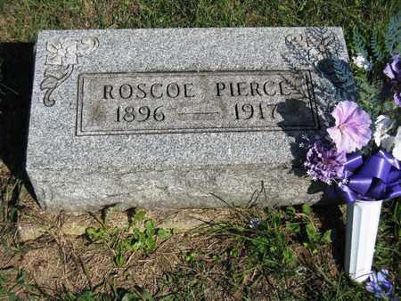 PIERCE, ROSCOE - Vinton County, Ohio | ROSCOE PIERCE - Ohio Gravestone Photos