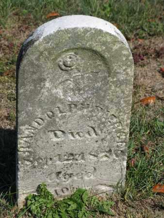 PIERCE, RANDOLPH - Vinton County, Ohio   RANDOLPH PIERCE - Ohio Gravestone Photos