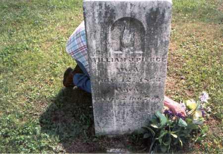 PIERCE, WILLIAM J. - Vinton County, Ohio | WILLIAM J. PIERCE - Ohio Gravestone Photos