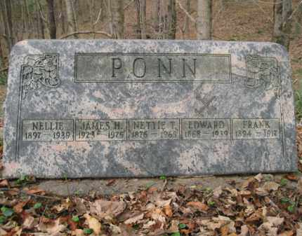 PONN, NELLIE - Vinton County, Ohio | NELLIE PONN - Ohio Gravestone Photos