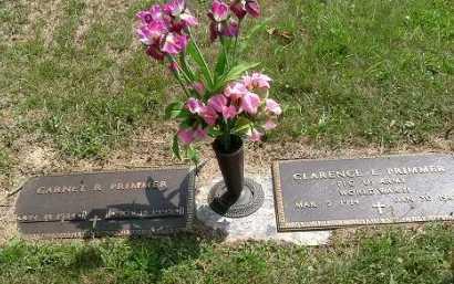 PRIMMER, CLARENCE E. - Vinton County, Ohio | CLARENCE E. PRIMMER - Ohio Gravestone Photos