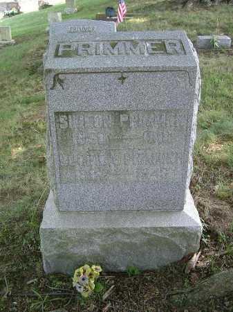 PRIMMER, LUCINDA - Vinton County, Ohio   LUCINDA PRIMMER - Ohio Gravestone Photos