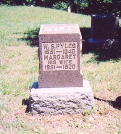 PYLES, W. S. - Vinton County, Ohio | W. S. PYLES - Ohio Gravestone Photos