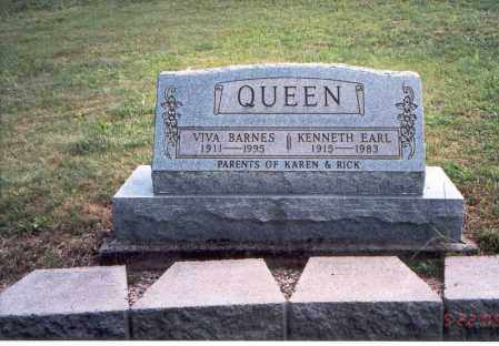 QUEEN, KENNNETH EARL - Vinton County, Ohio | KENNNETH EARL QUEEN - Ohio Gravestone Photos