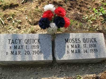 HUMPHREY QUICK, TACY - Vinton County, Ohio | TACY HUMPHREY QUICK - Ohio Gravestone Photos
