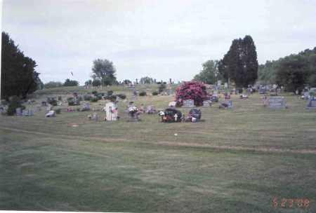 RADCLIFF  CEMETERY, OVER VIEW - Vinton County, Ohio | OVER VIEW RADCLIFF  CEMETERY - Ohio Gravestone Photos