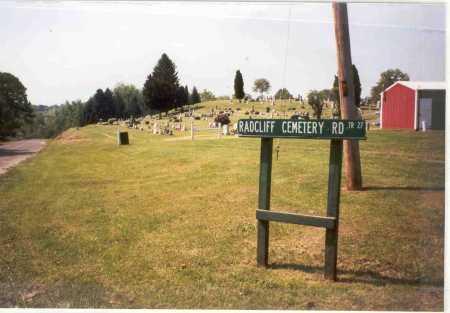RADCLIFF, CEMETERY - Vinton County, Ohio | CEMETERY RADCLIFF - Ohio Gravestone Photos