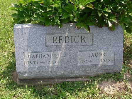 REDICK, CATHARINE - Vinton County, Ohio | CATHARINE REDICK - Ohio Gravestone Photos