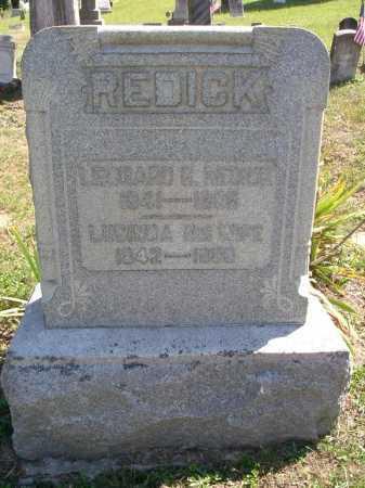 REDICK, LEONARD - Vinton County, Ohio | LEONARD REDICK - Ohio Gravestone Photos
